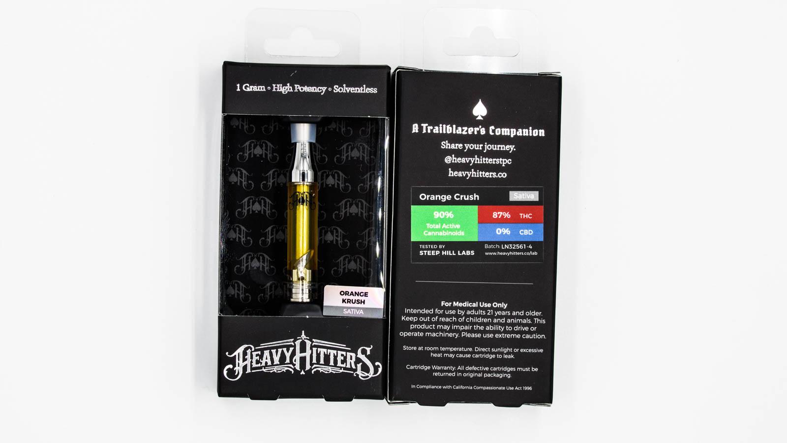 Heavy Hitters - Cartridge Orange Krush 1g | Goldn Bloom