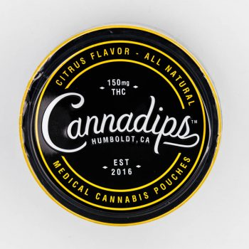 Cannadips 150mg THC Citrus