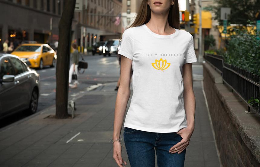 Goldn Bloom Cannabis T shirt