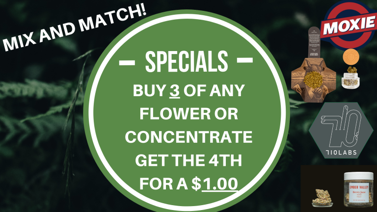MIX AND MATCH SPECIAL!