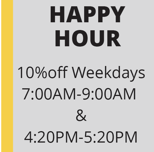 Cannabis Specials on Happy Hour